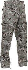 Men's Total Terrain Camo BDU Cargo Pants - Military Style Tactical Pants S TO 3X