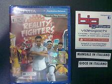 REALITY FIGHTERS PSVITA PLAYSTATION VITA PAL NUOVO SIGILLATO