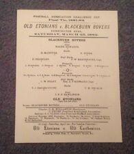 Réplica copias-FAC programas final - 1882 - 1914-Desde £ 1.99 cada uno