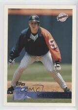1996 Topps #58 Scott Sanders San Diego Padres Baseball Card