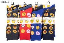3,6,12 Pairs Men Socks Emoji Emotions Smiley Novelty Faces Character Everyday UK