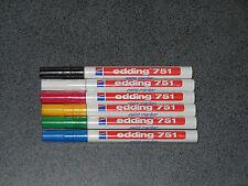 Lot au choix 3 marqueurs Edding 751