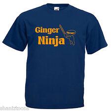 Ginger Ninja Ginger Hair Children's Kids T Shirt