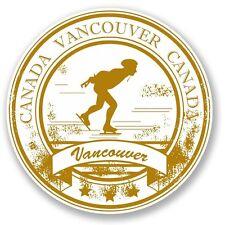 2 x Vancouver Canada Vinyl Sticker Laptop Travel Luggage #4538