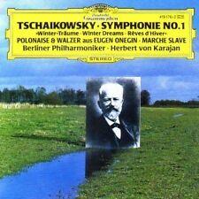 Tchaikovsky SINFONIE No.1 EUGENE ONEGIN Karajan CD