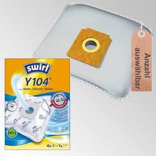 Swirl Staubbeutel Y104 oder Vlies Filtertüten Staubsaugerbeutel Hausmarke Filter
