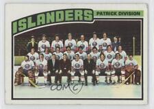1976-77 Topps #142 New York Islanders Team Hockey Card
