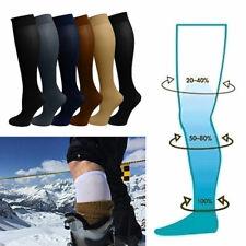 Unisexe femmes hauteur de Genou Bas compression ORTEIL fermé jambe contention