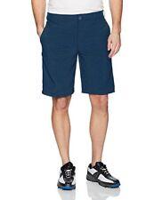 New IZOD Men's Golf Swing Flex Flat Front Shorts 33,34,36,38,40,42,44 Blue