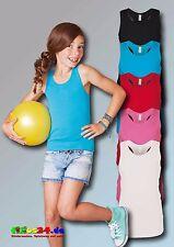 2er Set KARIBAN Mädchen Top Girl-Top Ladies-Top T-Shirt Größe 6 - 14 in 5 Farben