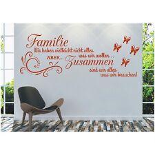 Wandtattoo Spruch  Familie haben zusammen Sticker Wandsticker Wandaufkleber 5