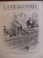 LA VIE ILLUSTREE 1899 N 49 L'AFFAIRE DREYFUS A RENNES