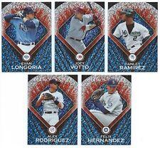 2011 Topps Baseball Diamond Stars Insert You Pick the Player Finish Your Set