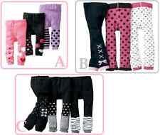 BULK SET OF 3 pairs Baby Toddler Girls Sock Leggings Size 0 or size 3