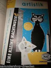 16474 Artistik 1963 1-12 internationales Fachblatt für Variete Zirkus Kabarett