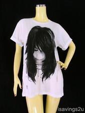 BJORK T-shirt, Electro ROCK Indie ART Pop White COTTON S M & L Unisex, Music