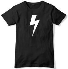 Lightning Bolt Mens Funny Unisex T-Shirt