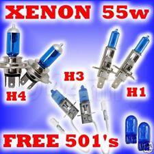 55w XENON HEADLIGHT BULBS LEXUS LS400 90-98 H4 H1 H3