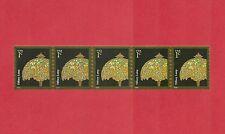 3758A Tiffany Lamp 2008 MNH GUM Coil Strip 5 1c