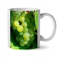 VERDE UVA naturale Sunny GIARDINO NUOVO White Tea Tazza da caffè 11 OZ | wellcoda