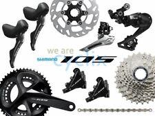 New 2019 Shimano 105 R7000 R7020 Hydraulic Disc Brake Groupset 170/172.5/175mm