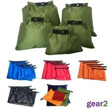 5 x Waterproof Dry Bags Sack Canoe Kayak Camping Hiking Cycling Fishing Sailing