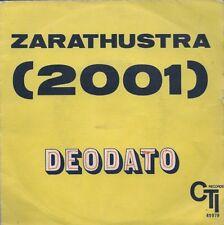 45 TOURS--DEODATO--ALSO SPRACH ZARATHUSTRA--1972