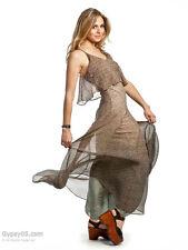 Gypsy 05 Fiona Overlay Maxi Dress Vanessa  OLIVE  NWT