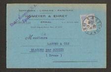 """EPINAL (88) IMPRIMERIE , EDITEUR DE CARTES POSTALES """"HOMEYER & EHRET"""" en 1932"""