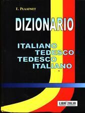 DIZIONARIO ITALIANO TEDESCO - TEDESCO ITALIANO DIZIONARI/ENCICLOPEDIE.