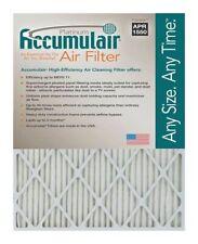 Accumulair Platinum 20x25x1 Merv 11 Air Filters (4 Pack)