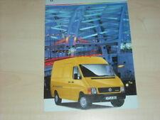 35247) VW LT 35 Polen Prospekt 1999