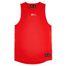 K1X hardwood - anti gravité Basketball Jersey - Rouge/Rouge