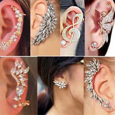 1pc Fashion Women Clip Ear Cuff Stud Punk Wrap Cartilage Earring Jewelry Gift
