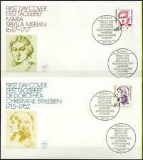 BRD 1987: Frauen! FDC der Nr. 1331+1332 mit Bonner Ersttags-Sonderstempeln! 1703