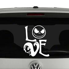 Jack Skellington Sally Love Inspired Vinyl Decal Sticker