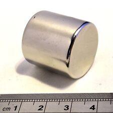 "neomidio Vara Imanes 2.5cm diámetro x 1 ""( 25mm) Grueso N38 Fuerte Redondo"