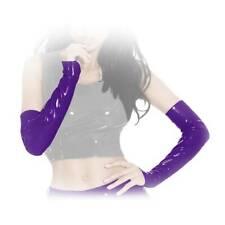 S-Insistline - Glänzende Datex Handschuhe / Stulpen in diversen Farben