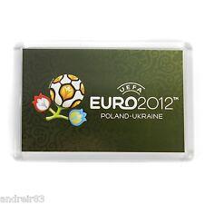 Uefa Euro 2012 Poland Ukraine magnet Footbal soccer official licensed product