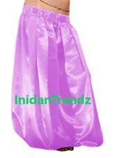 Orchid Satin Harem Yoga Pant Belly Dance Pantaloons Aladdin Baggy Halloween
