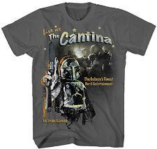 Official Star Wars The Cantina Boba Fett Adult T-Shirt -Darth Vader David Bowie