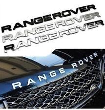 3D Letter RANGE ROVER Sticker Emblem Front Hood Bonnet Rear boot Trunk