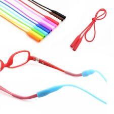 2pcs Slip Silicone Eyeglasses Straps Sunglasses String Ropes Glasses Chain