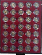 2 Euro Gedenkmünzen/Sondermünzen 2012 Komplett-Satz 35 Münzen incl.Leuchtturmbox