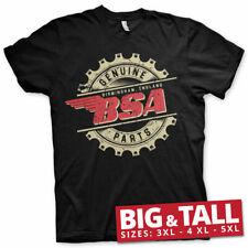 Licensed B.S.A. Motorcycles - Genuine Parts Big&Tall 3XL, 4XL, 5XL T-Shirt