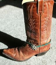 Western Crystal Spur Shoe Jewelry Boot Bracelet Apparel Accessory
