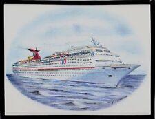 Original Art Work ...ms CARNIVAL IMAGINATION ... cruise ship...CCL