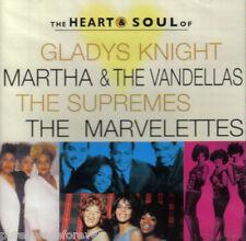 KNIGHT/MARTHA & VANDELLAS/SUPREMES/MARVELETTES - Heart & Soul (UK/EU CD Album)