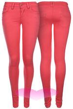 Womens Ladies Jeans SUPER Skinny Slim Stretch Denim Jeans UK SIZES 8 10 12 14.
