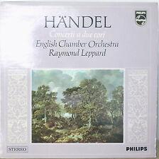 HANDEL: Concerti a Due Cori-M1968LP LEPPARD/ENGLISH CHAMBER ORCHESTRA IT IMPT
